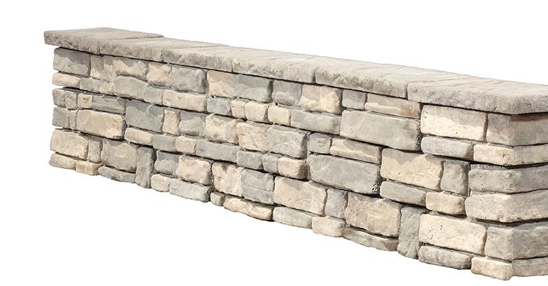 panama stone seat wall